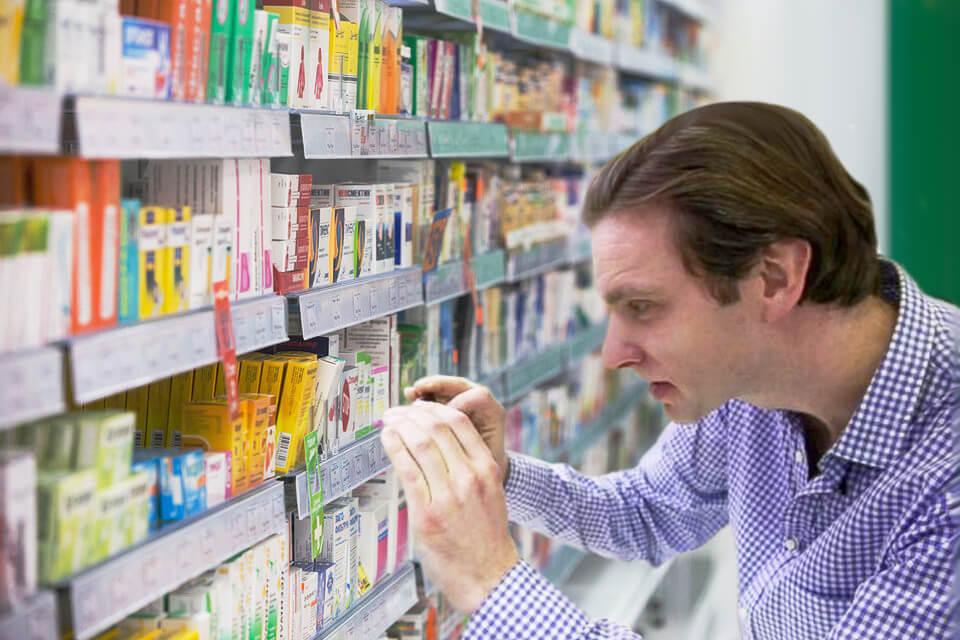 Проверка аптек тайными покупателями по чек-листам на мобильниых устройствах